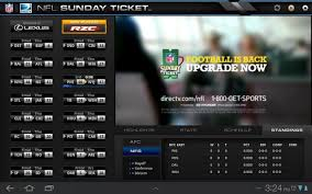 directv app for android phone directv nfl sunday ticket app now available for android honeycomb