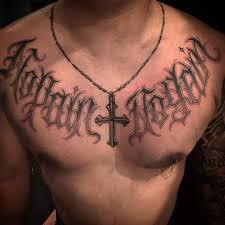 chicano script script tattoos chicano and