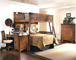 Bunk Bed Desks Bunk Beds Desk Bed With Desk Attached Mixing Work Pleasure Loft