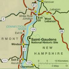 map to maps gaudens national historic site u s national park