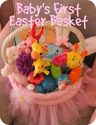 easter baskets for babies scoops of poops baby s easter basket ideas
