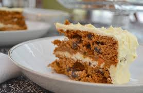paleo carrot cake with honey frosting forty cakes