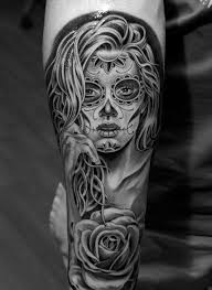 awesome day of the dead tattoos http photovide com day dead