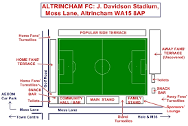 tottenham wembley seating plan away fans altrincham fc archived news