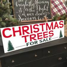 joanna s actual trees for sale sign that i want to make