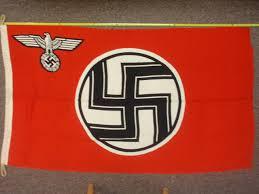 German Flag In Ww2 Time Traveler Militaria Ww2 German State Service Flag