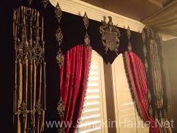 images about red curtains on pinterest and window treatments