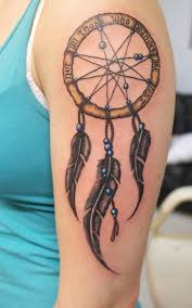25 pretty dreamcatcher tattoos designs and meaning