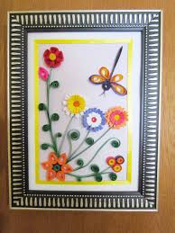diy festival gifts paper quilling artwork handmade dragonfly