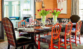 orange dining room 18 best dining room decorating ideas pictures of dining room decor