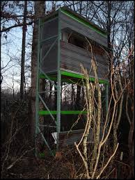 Elevated Bow Hunting Blinds Elevated Shooting House