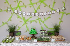 Jurassic Park Decorations Hello Wonderful 11 Creative Birthday Parties For Little Boys
