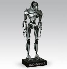 lifesize cylon centurion robot from battlestar galactica the