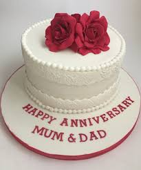 outstanding ideas wedding anniversary cakes and wonderful