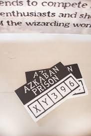 kara u0027s party ideas prisoner cards from a harry potter birthday