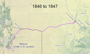 map travel travel the trail map timeline 1846 1866 santa fe national