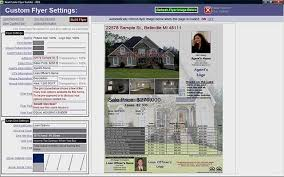 mortgage flyers software real estate flyers open house