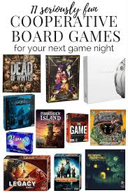 cooperative board games to play with your friends family or on