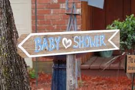Baby Shower Outdoor Ideas - baby shower decorations sign its a boy its a custom