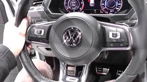 volkswagen tiguan 2017 r line vw tiguan r line mk2 warning lights dash cluster u0026 interior look