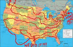 road map planner usa this planned the most epic and efficient road trip of all