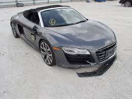 damaged audi for sale auto auction ended on vin wuatnafg5en000162 2014 audi r8 5 2 qua