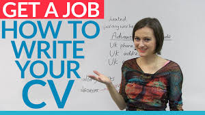 How To Construct A Resume For A Job by Job Skills Prepare Your English Cv For A Job In The Uk Engvid