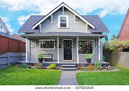 house with porch house front view stock images royalty free images vectors