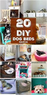 Homemade Dog Beds 20 Easy Diy Dog Beds And Crates That Let You Pamper Your Pup Diy