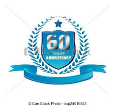 60 years anniversary vintage 60 years anniversary message emblem eps vector search