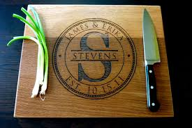 personalized wedding cutting board how tuesday give a unique affordable wedding gift