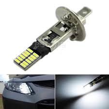 Led Bulbs For Fog Lights by 6500k Hid Xenon White 24 Smd H1 Led Replacement Bulbs For Fog