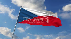 Czech Flag Czech Flag Royalty Free Video And Stock Footage