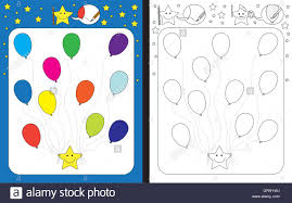 Preschool Worksheet Preschool Worksheet Stock Vector Art U0026 Illustration Vector Image