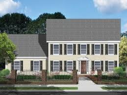 Simple Colonial House Plans Georgian Home Plans At Eplans Com Colonial House Plans And