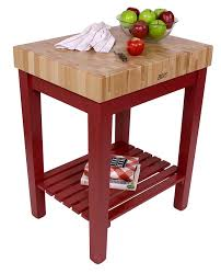 John Boos Kitchen Table by John Boos American Heritage Prep Table With Butcher Block Top