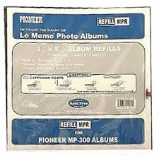 pioneer jmv 207 magnetic photo album pioneer photo pages sheets sleeves ebay