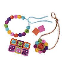 4m easy to do crochet craft kit kidzinc australia educational toys