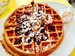 sweet potato waffles picture of kitchenette new york city