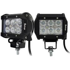led work lights for trucks 2pcs led tractor truck work lights worklight l spot beam 4inch