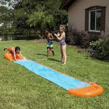 Best Backyard Water Slides H2ogo Water Slide Single Lane Walmart Com