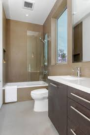 bathroom decorative small narrow bathroom ideas tub shower combo