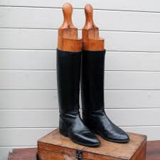 boot trees uk antique leather officer s boots on wooden boot