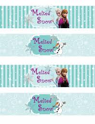 free printable frozen labels parties free