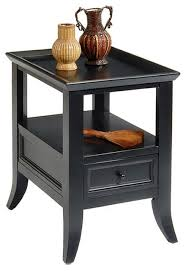 dark wood accent tables liberty furniture 915 occasional 24x18 rectangular end table in dark