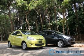 review 2013 mitsubishi mirage and 2013 mitsubishi attrage
