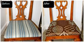 holimess replacing the fabric on dining room chairs