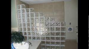 bathroom designs glass block shower youtube