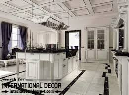 Kitchen Ceilings Ideas Modern Kitchen Ceiling Designs Ideas Lights Coffered Ceiling For