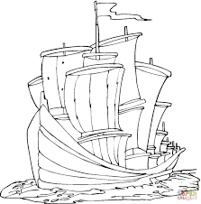 columbus day coloring pages free coloring pages